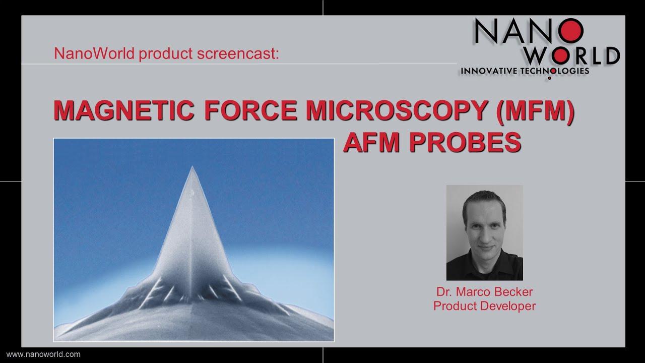 NanoWorld Magnetic Force Microscopy (MFM) AFM Probes thumb