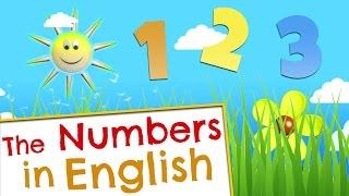 La canción de los números en inglés
