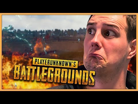 GRASSET ER LAVA-CHALLENGE - Norsk PlayerUnknowns Battleground Let's Play