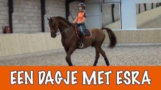Een dagje met Esra   PaardenpraatTV