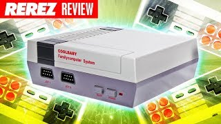 NES Classic Knock Off Console // Cool Baby 600 in 1 - Rerez