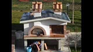 Costruire forno e barbecue