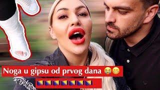 Vlog iz Bosne :Noga u gipsu