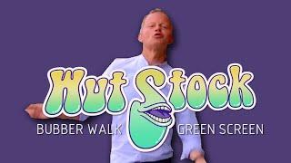 Wut Stock: Bubber Walking [Green Screen]