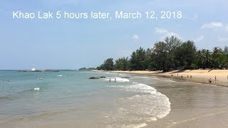 Khao Lak 5 hours later, March 12, 2018