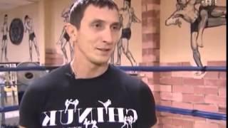 CTV BY  Утренняя зарядка с четырехкратным чемпионом по тайскому боксу Виталием Ахраменко
