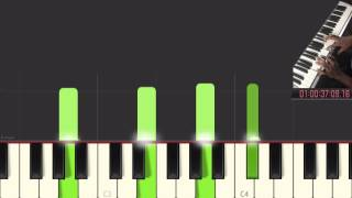 Oceans (Where Feet May Fail) Piano Tutorial in one MINUTE (Part 1)