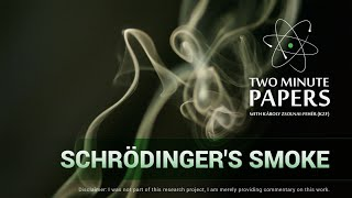 Schrödinger's Smoke | Two Minute Papers #70
