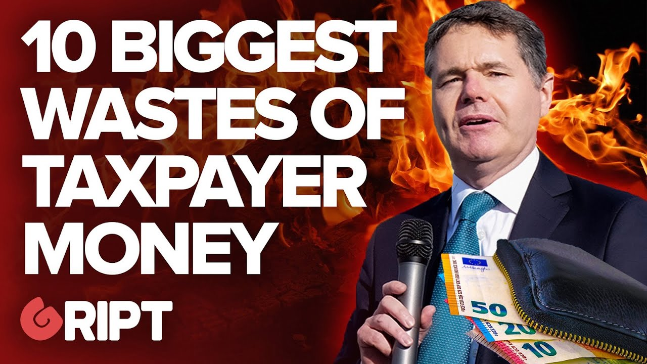 10 times the Irish State wasted Taxpayer Money