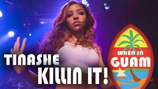 Guam Live 2015: Tinashe KILLIN IT!