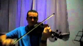 CCB Hino 334 no violino - Deus é por mim