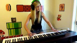 Lara plays 'Kraid's Lair' from Metroid (NES) on piano