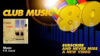 F.R. David - Music - ClubMusic80s