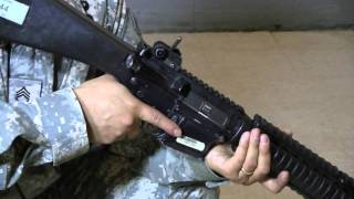 Unloading the M16 Series/Family of Rifle