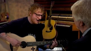 "Ed Sheeran plays ""Castle on the Hill"""