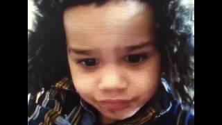 "Omarion learning how to talk "" says "" Hat "" elmira ny"