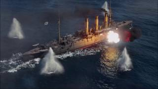 3rd World of Warships Main Menu Video - Official Game Release (No Markings)