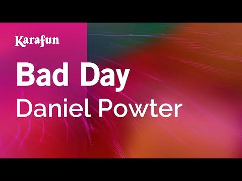 Karaoke Bad Day - Daniel Powter * - YouTube