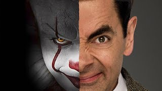 if Mr. Bean was Pennywise from IT