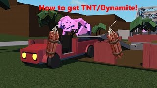 How to get TNT / Dynamite! | Roblox: Lumber Tycoon 2