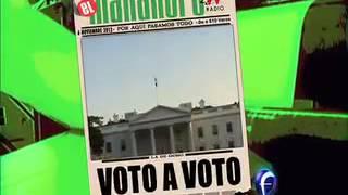 El Mañanero, Avances 06 noviembre.