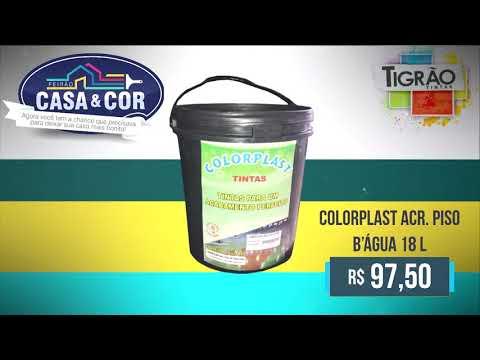 Feirão Casa & Cor Tigrão Tintas - neste sábado 9 de fevereiro até as 13 horas