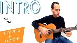 The XX  - intro - guitar tab (easy)
