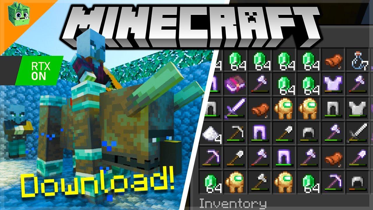 ECKOSOLDIER - AFK Pillager Raid farm RTX ON - Minecraft Survival Stories (110) DOWNLOAD