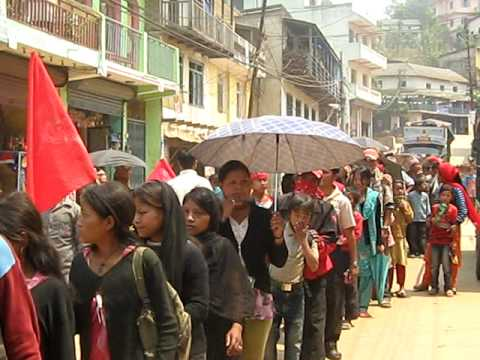Maoists demonstration