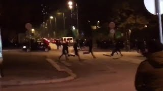 Confrontos junto ao Estádio do Dragão - Casuals Ultras do Benfica causam o caos no Porto