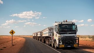 Volvo Trucks - 175 tonnes road train through the Australian outback - Drivers World (E08) width=