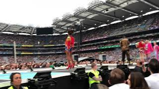Spice Girls - Dancers opening Spice World Tour 2019 - live in Dublin 24.05.2019 Part II