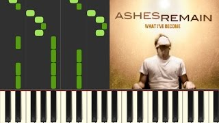 On My Own - Ashes Remain  Piano Cover