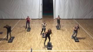 ZUMBA STEP/ merengue choche/ show fitness