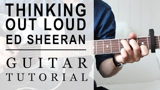 Ed Sheeran -Thinking Out Loud FAST Guitar Tutorial | EASY Chords