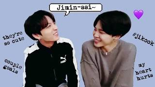 "Jungkook Saying ""Jimin-ssi"" For A Full Minute (Compilation)"