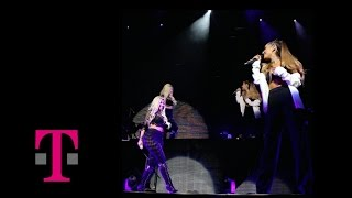 Nicki Minaj & Ariana Grande Get On Your Knees LIVE @ T Mobile Arena, Las Vegas