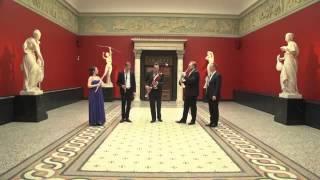 Oboé, Trompa, Flauta transversal, Clarinete e Fagote