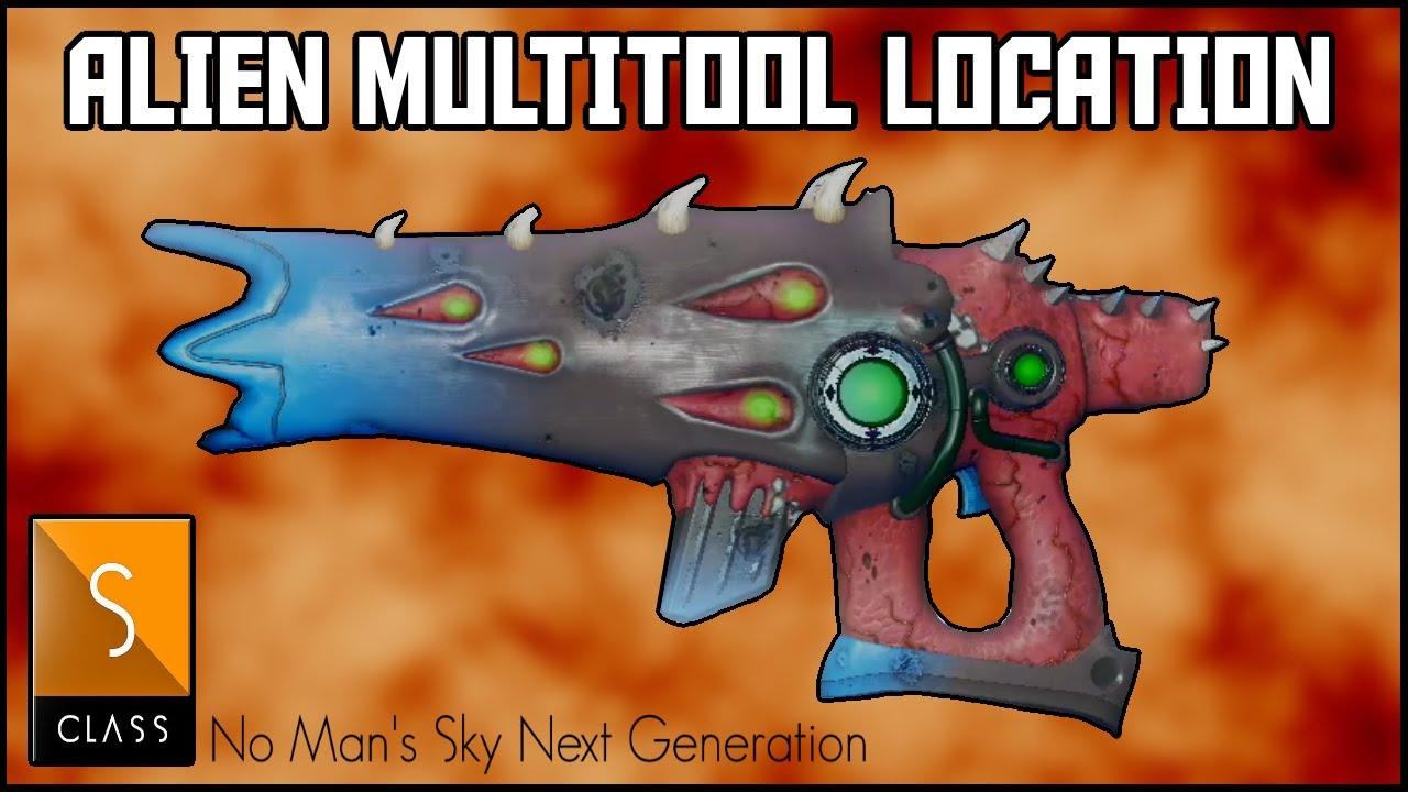 Manic Miners - No Man's Sky Next Generation - RARE !! S Class Alien Weapon / Multitool - No Mans Sky 2020