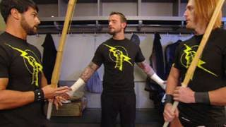 "Raw: Heath Slater and Justin Gabriel deny their ""new"" Nexus"
