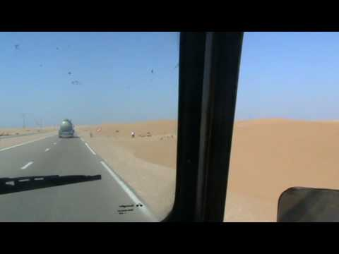 one day in 2009 : driving to laayoune port