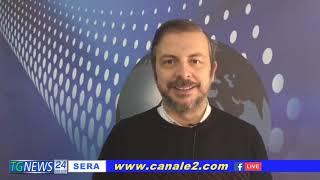 TG NEWS SERA CANALE 2 LE NOTIZIE DEL 23 FEBBRAIO 2021