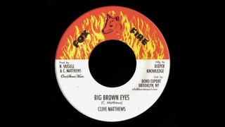 Clive Matthews - Big Brown Eyes Version