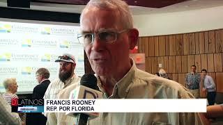 El congresista Francis Rooney encabezó un evento para tratar la crisis de las algas en la región