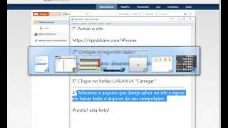 Video que ensina a mandar arquivos pesados
