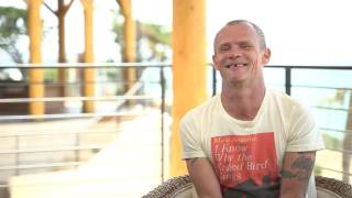 Flea talks about new Red Hot Chili Peppers album cover in JOE.ie exclusive