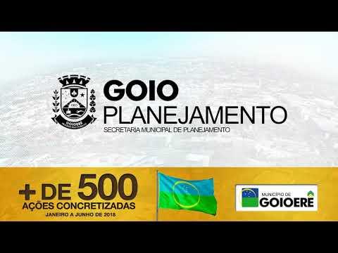 Goioerê 63 anos - administração presta Contas do ultimo semestre de 2018