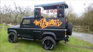 4x4 Beats Pop Up DJ Truck