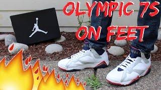 Jordan Olympic 7's On Feet/Detailed Look HD