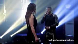 "Jason Derulo featuring Jordin Sparks ""Vertigo""  Live @ Walmart Soundcheck"
